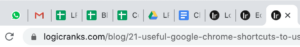 To navigate before previous and next opened tabs